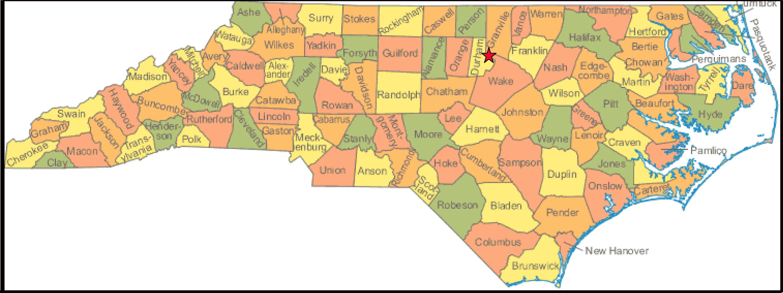 NC state map | NewSoil Vermiculture LLC